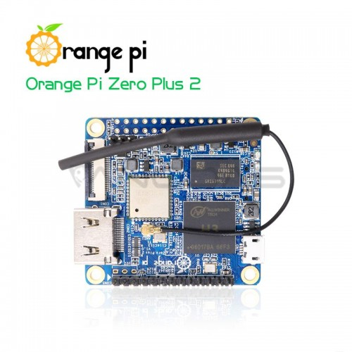 Orange Pi Zero Plus2 - H5 Quad-Core 512MB RAM + 8GB eMMC Flash