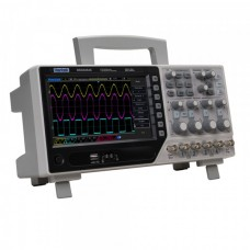 Osciloskopas Hantek DSO-4104C 100MHz - 4 kanalų