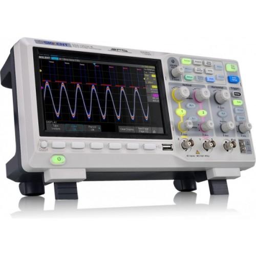 Osciloskopas Siglent SDS1202X-E 200MHz - 2 kanalų