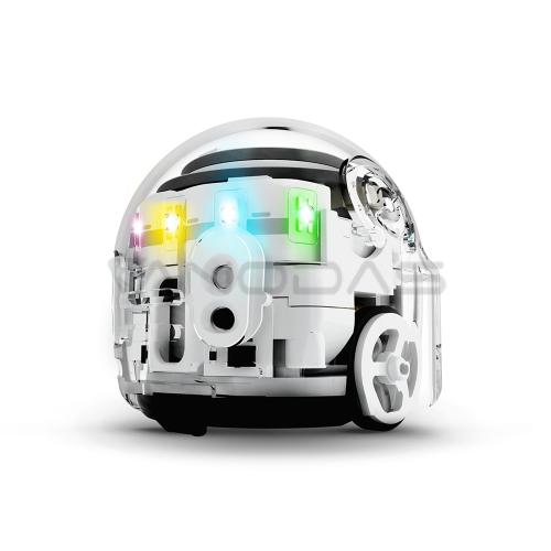 Ozobot Evo interaktyvus robotas – baltas