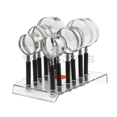 Padidinimo stiklų rinkinys CLASSIC 4D 50/65 / 75mm - 12 vnt