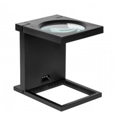 Foldable Magnifier 108 mm 2.5 D LIGHTS 3 X LED