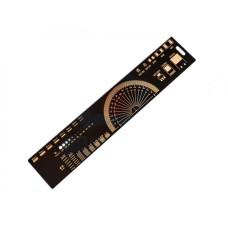 PCB liniuotė 20cm