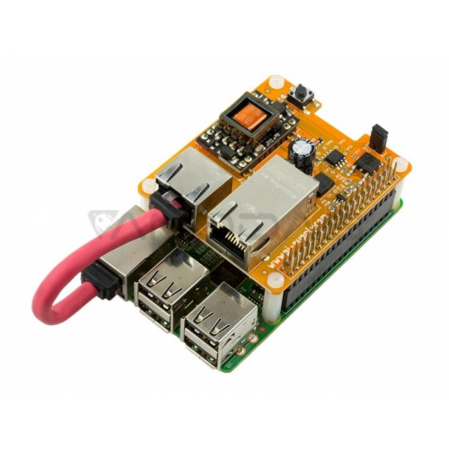 Pi PoE Switch HAT - Power Over Ethernet for Raspberry Pi