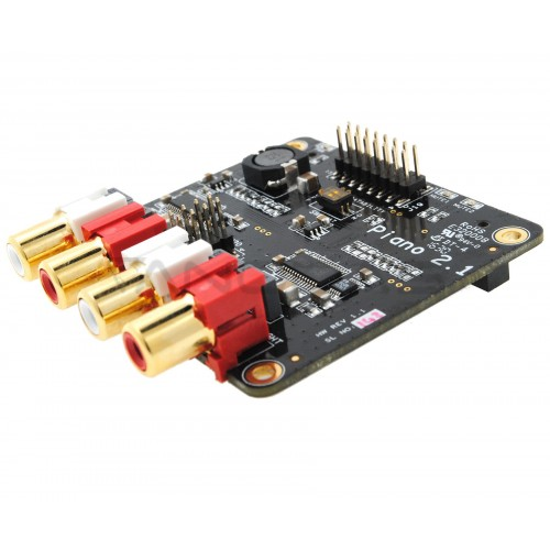 Piano 2.1 HiFi DAC for Raspberry Pi