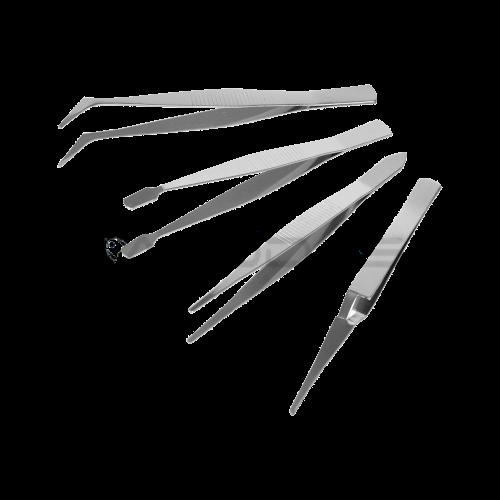 Pincetų rinkinys KINZO - 4 vnt