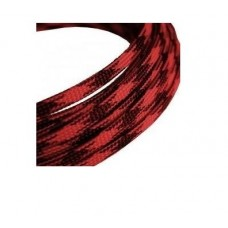 Flexible shield red with black 4-8mm