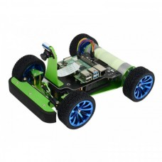 PiRacer DonkeyCar - 4WD robot chassis with AI camera compatible with Raspberry Pi
