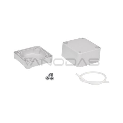 Plastikinė dėžutė KRADEX Z46JS pilka 52.6x144.6x197.8mm