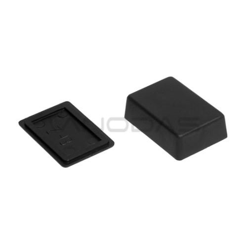Plastikinė dėžutė Kradex Z43 juoda 16.0x31.0x46.0mm