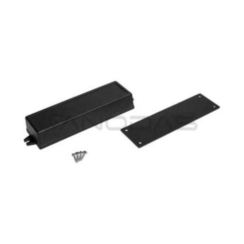 Plastikinė dėžutė Kradex Z51U juoda 27.0x49.0x155.0mm