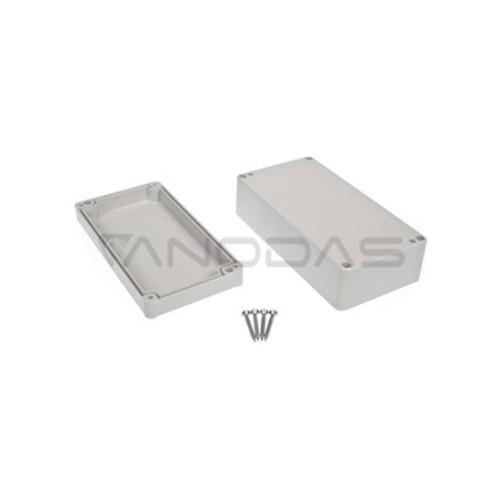 Plastikinė dėžutė Kradex  Z58J šviesiai pilka 54.9x82.2x158.2mm