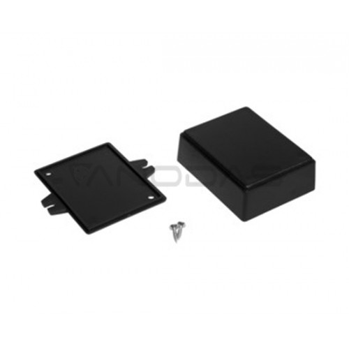 Plastikinė dėžutė Kradex Z70U juoda 27.9x58.8x75.9mm