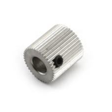Plastiko padavimo skriemulys 40 dantukų - 5mm ašis