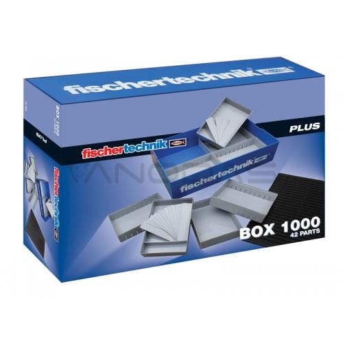 PLUS Box 1000 dėžučių su skyreliais rinkinys