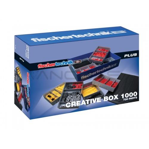 PLUS Creative Box 1000  Dežutė su konstruktoriumi