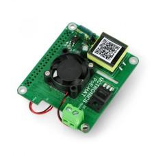 PoE HAT 5V 3A - maitinimas per Ethernet Raspberry Pi 4B/3B+ - Uctronics U6102
