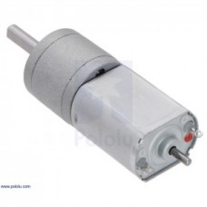 Pololu  DC variklis 100:1 6V 140RPM 20Dx44L