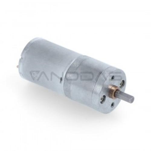 Pololu DC variklis HP Su Pavara 99:1 6V 100RPM 25Dx54L