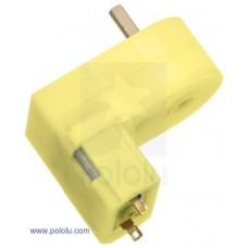 Pololu Mini plastikinis DC variklis su 180:1 reduktoriaus pavara