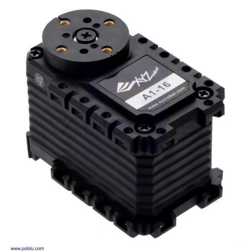 Pololu XYZrobot Smart Servo A1-16 - 360 Laipsnių Apsisukimas - 2,47 Nm