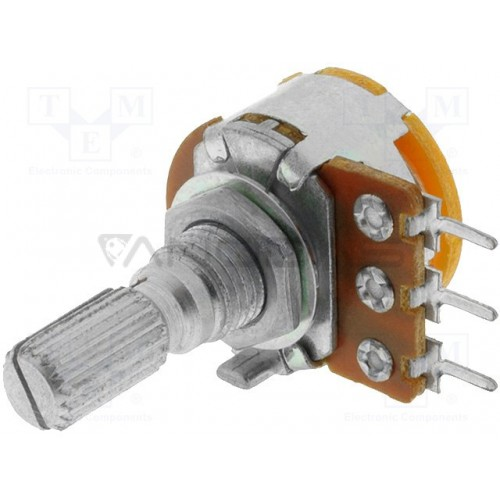 Potentiometer R16 500 log mono