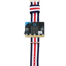 Power:bit plastikinė dėžutė Micro:bit mikrovaldikliui ant rankos
