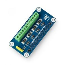 Raspberry Pi Waveshare 17539 power monitor HAT - 4 channel