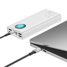 Baseus Amblight Quick Charge large power power bank 33W PD3.0+QC3.0 30000mAh White
