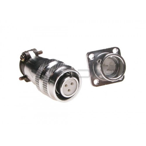 Industrial cylindrical connector C03 3pin