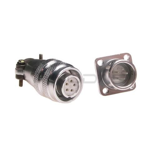 Pramoninė cilindrinė jungtis C03 5 kontaktų