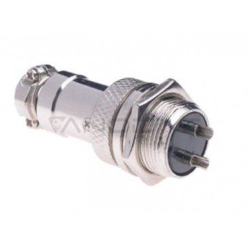 Industrial cylindrical connector C091 7 pin