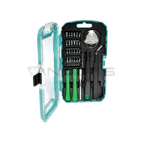 Precizinių atsuktuvų ir remonto įrankių rinkinys SD-9322M Pros'Kit