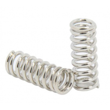 Feeder spring for Ultimaker Makerbot Wade extruder nickel plating 1.2mm X 20mm