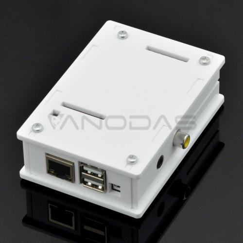 Dežutė Banana Pi M1 mikrokompiuteriui (balta)