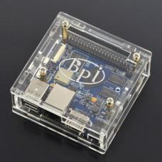 Dėžutė Banana Pi M2+ Mikrokompiuteriui (permatoma)
