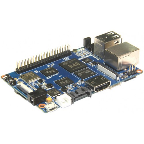 Banana Pi M2 Ultra 2GB RAM + 8GB EMMC Quad-Core WiFi BT 4.0 Mikrokompiuteris