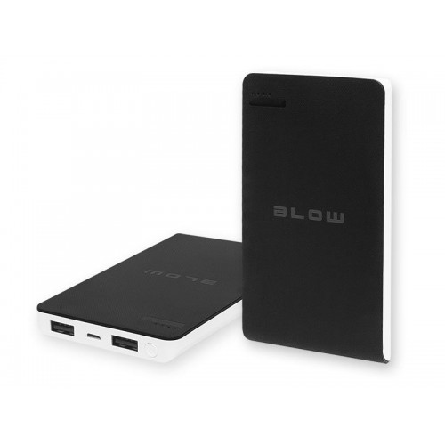 Power Bank 8000mAh 2xUSB PB13 black