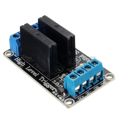 SSR Keyes Relay module 2A 240VAC / 5VDC - 2 channels