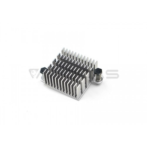 Pure Aluminum Heat Sink with thermal paste for NanoPC T2/T3 - 29x29mm