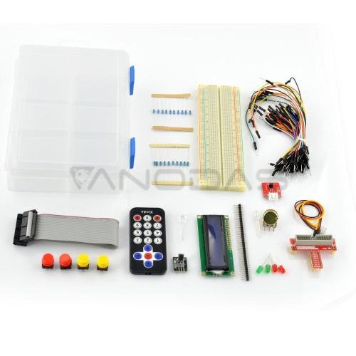 Raspberry Pi 3/2 Startinis Elektronikos Rinkinys