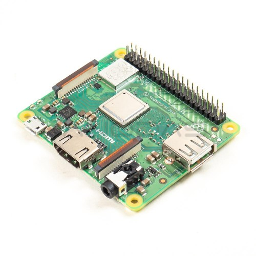 Raspberry Pi 3 model A+ WiFi Dual Band Bluetooth 512MB RAM 1.4GHz