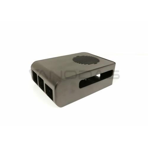 Raspberry Pi 4 dėžutė - juoda