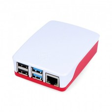 Raspberry Pi 4 Official case - red and white
