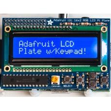 Raspberry Pi Adafruit Ekranas 16x2 LCD + Klaviatūra Komplektas