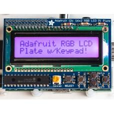 Raspberry Pi Adafruit Ekranas RGB Pozityvas 2x16 LCD + Klaviatūra Komplektas