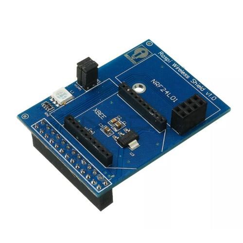 Raspberry Pi belaidžio ryšio priedėlis palaiko Zigbee-Xbee NRF24L01 NRF24L01 + RFM12B-D