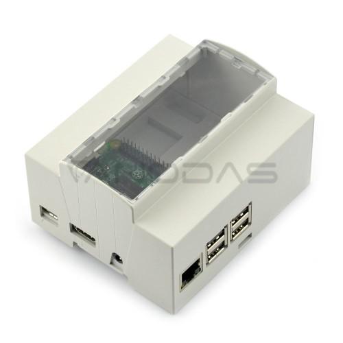 Raspberry Pi Case - DIN Rail - 6M XTS
