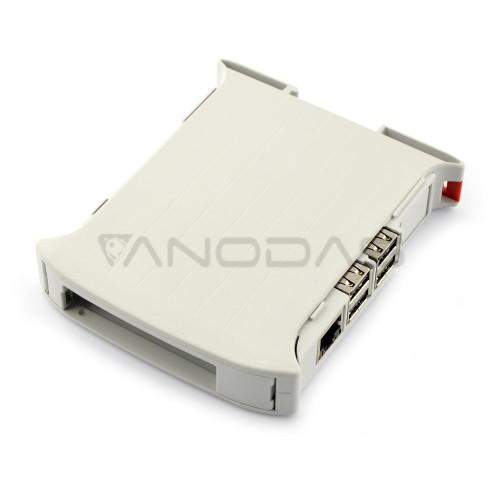 Raspberry Pi Dėžutė - DIN Bėgeliui - KIT 22.5mm
