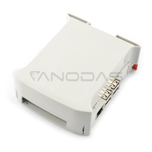 Raspberry Pi Dėžutė - DIN Bėgeliui - KIT 45mm